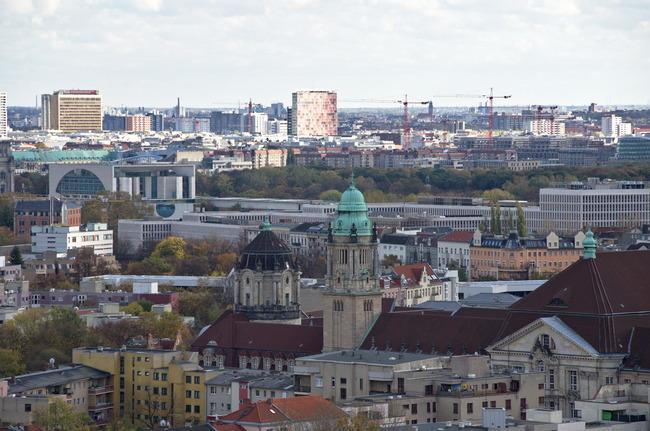 Kanzleramt und neues Innenministerium Berlin