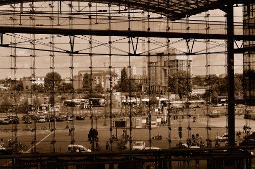 Blick auf die Baustelle des Statoil Towers