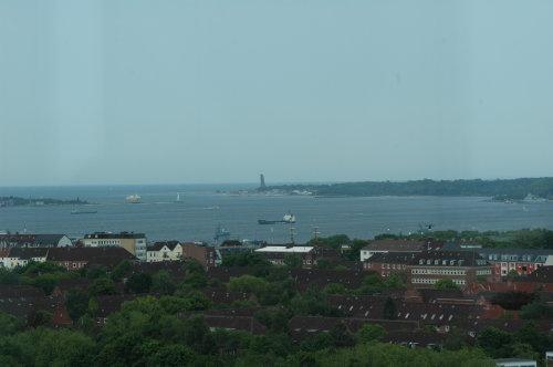 Blick über Kiel von CAU aus
