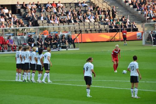 Christine Sinclair mit 2:1 Deutschland gegen Kanada