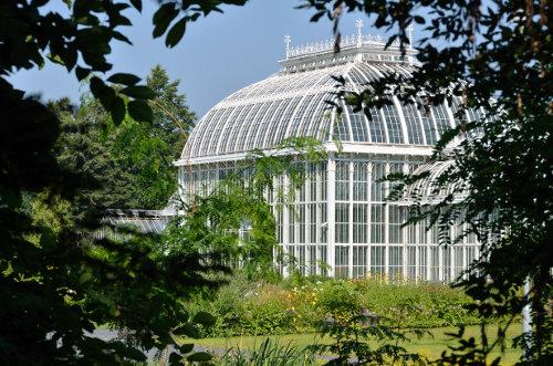 Gewächshaus im botanischen Garten in Helsinki