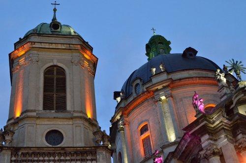 Kirche in Lviv, Ukraine