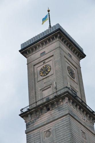 Rathaus von Lviv