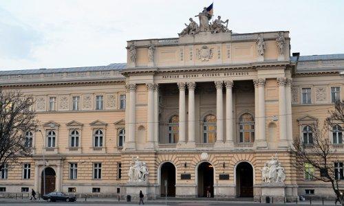 Hauptgebäude der Universität von Lviv