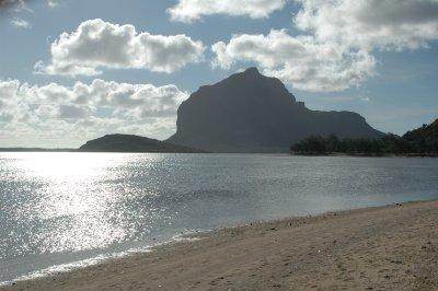 Fels Le Morne auf Mauritius