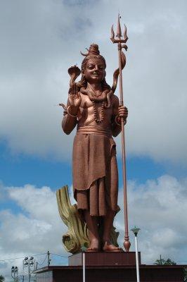 Hinduistische Statue auf Mauritius