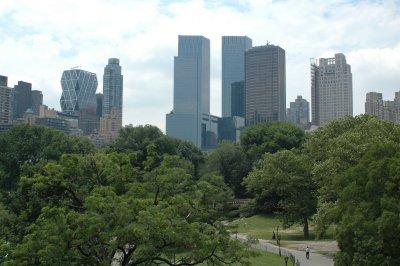 Manhattan vom Central Park aus fotografiert
