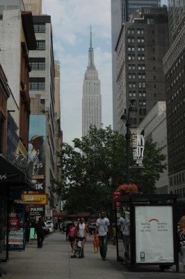 Empire State Building aus der Ferne