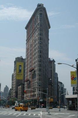 Flat Iron Building in Manhattan, New York