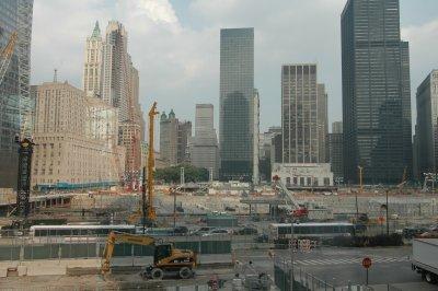 Ground Zero Ende Juni 2007