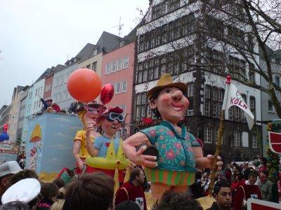 Rosenmontag 2007 in Köln (Bild von Andy)