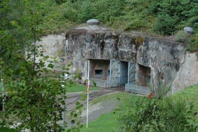 Eingang zum Simserhof; Maginot-Linie