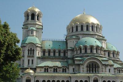 Alexander Nevski Kathedrale in Sofia