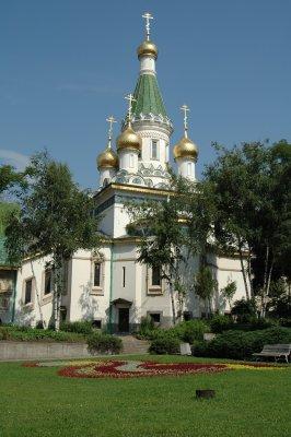 eine Kirche in Sofia