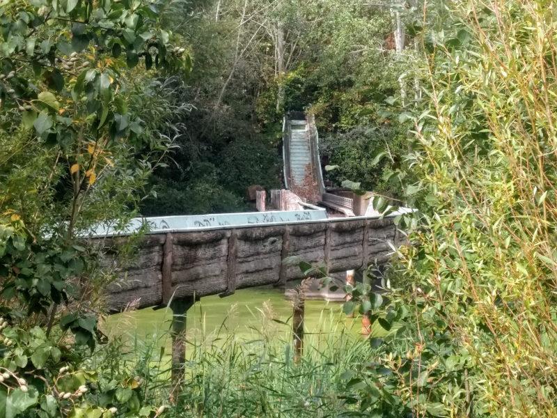 Wasserbahn im Spreepark