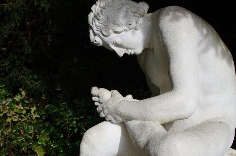 Skulptur im Wörlitzer Park