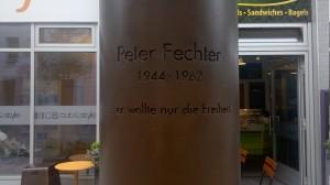 Denkmal an Peter Fechter, 2010